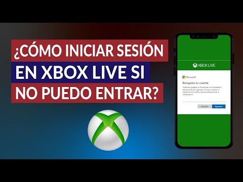 ¿Cómo Iniciar Sesión en Xbox Live si no Puedo Entrar? - Fácil y Rápido