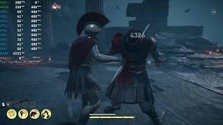 AMD Ryzen 5 2500U Test - Assassin's Creed Odyssey - Gameplay Benchmark Test