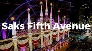 New York Eyes - Saks Fifth Avenue, November 2020