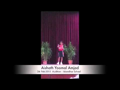 Yoomal Audition 26th