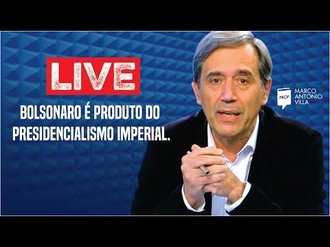 Live: Bolsonaro é produto do presidencialismo imperial. 10/04/21