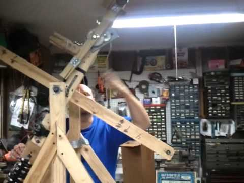 Gravity Motor Prototype Version 2.0, motor drive mass movement