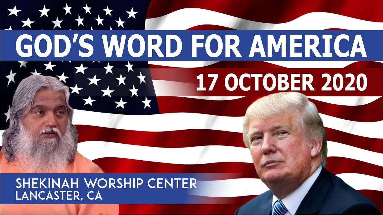 GOD'S WORD FOR AMERICA by PROPHET SADHU SUNDAR SELVARAJ