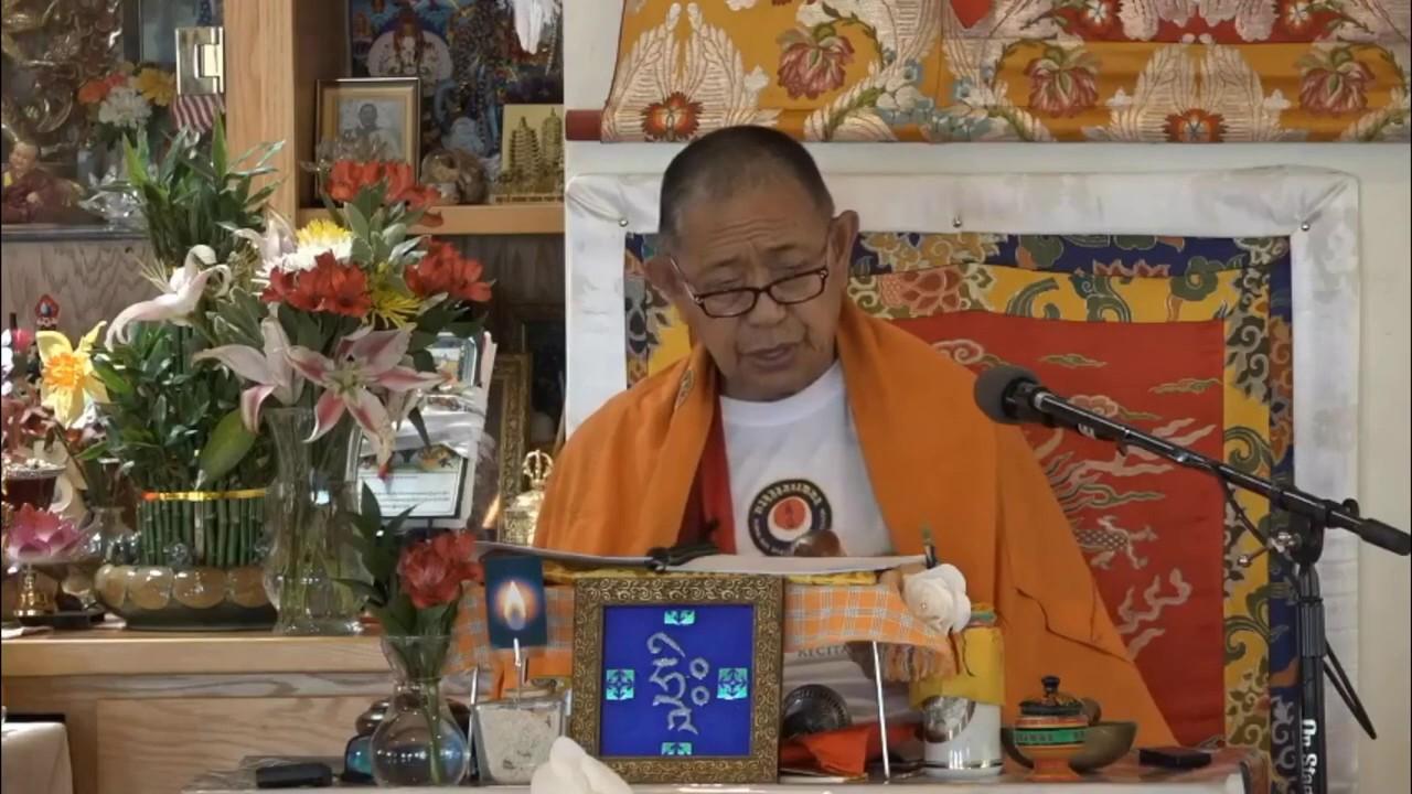 Chenrezig Mantra | H.E Garchen Rinpoche With Lamas