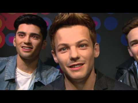 Contest Winners See One Direction Wax Figures Make Their Debut at Madame Tussauds Orlando!