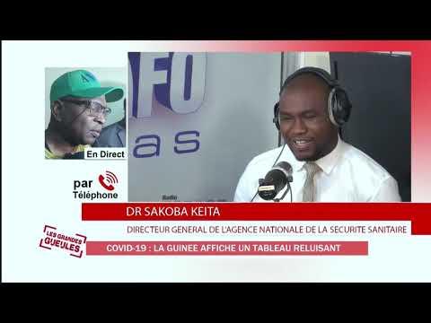 COVID-19 :Dr Sakoba KEITA , La Guinée affiche un tableau reluisant - EXTRAIT GG LUN 20200601