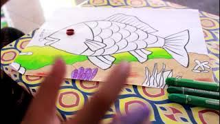 Cara Membuat Kolase Ikan Dari Kertas Origami Vidio Cara Membuat