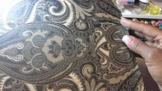 Napkin transfer on wood/tile & chip board