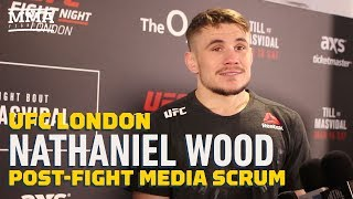 Despite Hometown Win, Nathaniel Wood 'Disappointed' With UFC London Showing - MMA Fighting