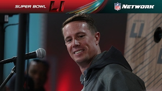 Best of Matt Ryan from Opening Night | NFL | Super Bowl LI Opening Night