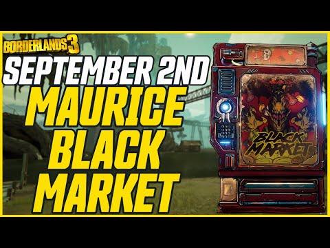 Wonderlands + Black Market Vending Machine Location! September 2nd // Borderlands 3