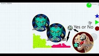 Agario Mobile SOLO VS 100000 BEST GAME PLAY in Agar.io