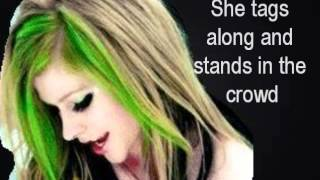 Avril Lavgine - Skater Boy Lyrics on screen (HQ)