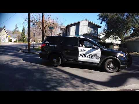 Modesto PD.  ~~ Fishing Expedition~~   (Cop watching)