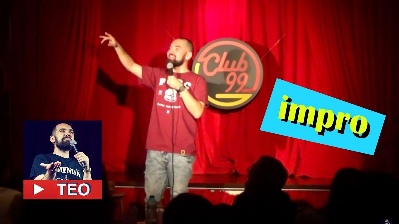 Medicina si design (show improvizat 100%) | Teo Stand-Up Comedy Official