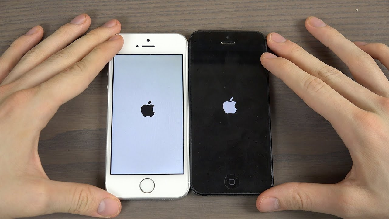 5 iphone se iphone se vs iphone 5 speed test
