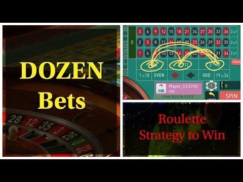 ROULETTE Strategy For Dozen