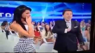 Mulher dá plateia conquista Silvio Santos e veja o que acontece