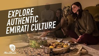 Authentic Cultural Experiences #InAbuDhabi