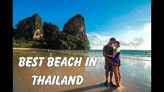 Best Beaches in Thailand! Phra Nang Beach and Railay Beach