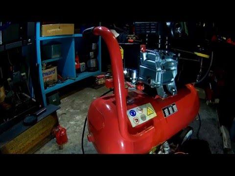 Drain it !  -  Air Compressor tear down + maintenance