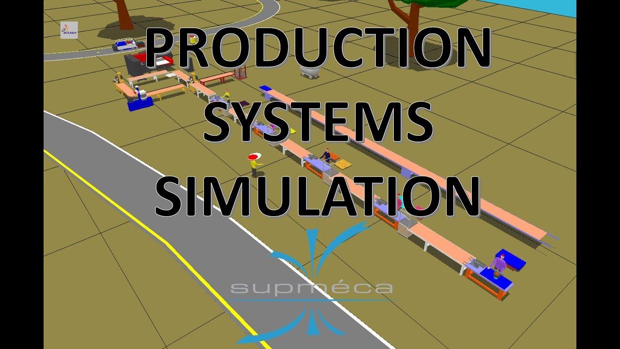 Production systems simulation using DELMIA/QUEST
