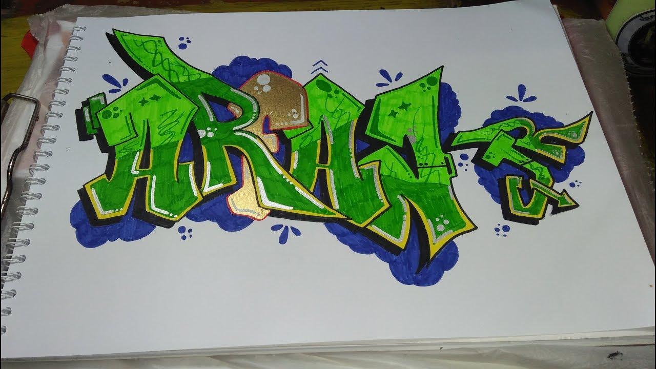 Request Graffiti Nama Arfan Jr