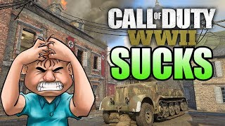 Call of Duty WW2 SUCKS!!