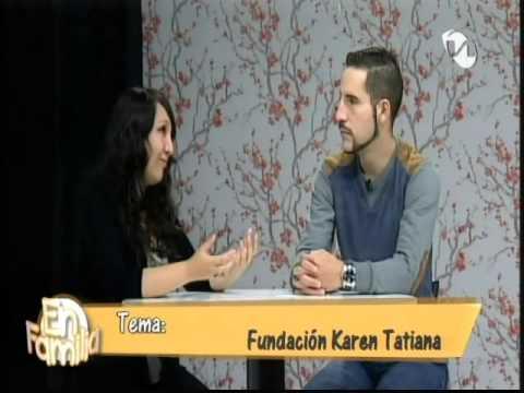 Entrevista Unsion TV a Andrea Penafiel Comunicadora de Fundacion Karen Tatiana