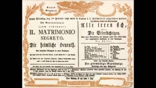 Domenico Cimarosa - Il matrimonio segreto (1792) - complete