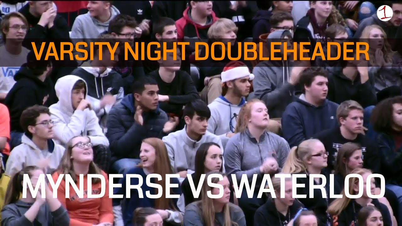 Mynderse-Waterloo Varsity Night Doubleheader .::. FL1 Sports High School Basketball 12/20/18