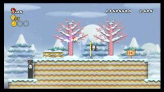 New Super Mario Bros. Wii - Star Coin Location Guide - World 3-2 | WikiGameGuides