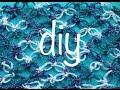 Espuma de Mar  Nudo Salomón  Mariposa Ganchillo Crochet Salomon s Knot  Butterfly DIY