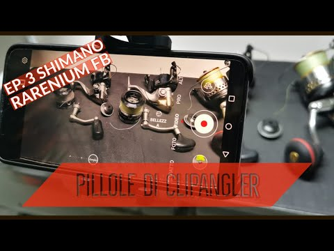 I miei mulinelli da SPINNING - Ep.3 - SHIMANO RARENIUM FB 3000 - 4000 spinning reel - clipangler