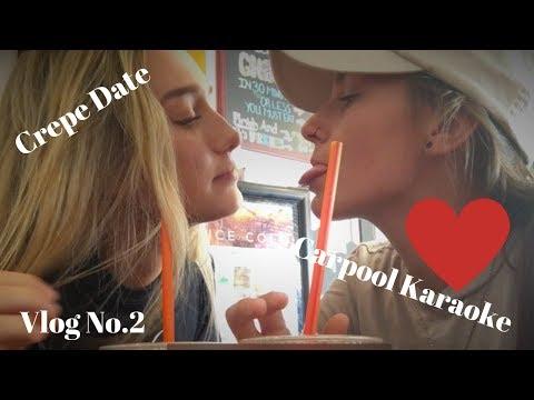 Crepe Date & Carpool Karaoke ft. Kristen Faillace // Nina Jablonska