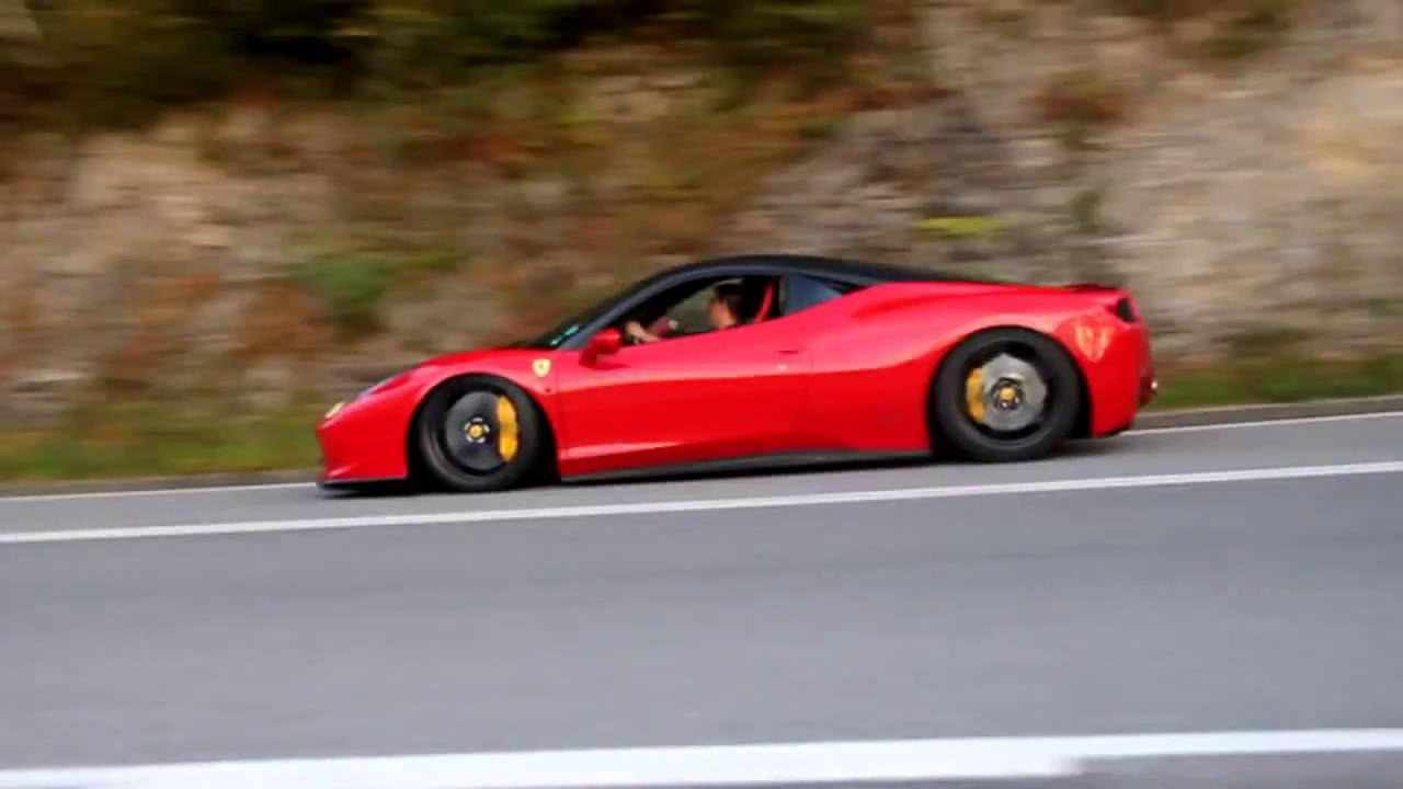 Ferrari 458 Italia replica - YouTube