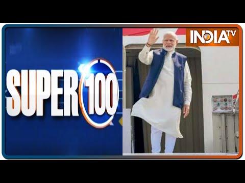 Super 100: Non-Stop Superfast   March 26, 2021   IndiaTV News