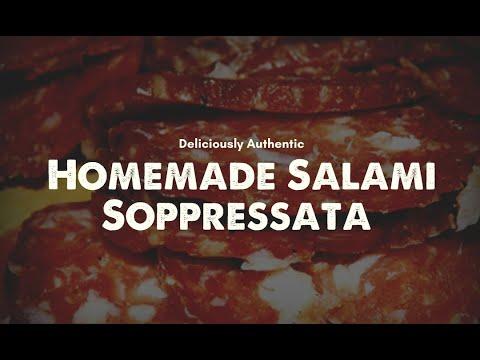 Soppressata Made At Home With UMAi Dry
