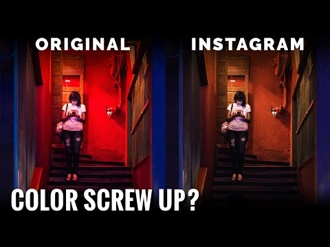 2555d2763 Why does Instagram Change the Color of My Picture? - YouTube