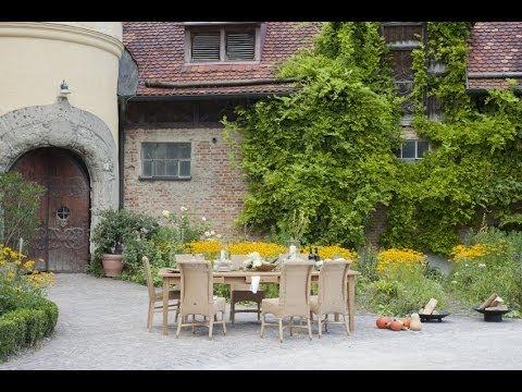 Esszimmer Einrichten Im Landhausstil   Wohnideen   Stuhl Meryll Loom |  VARIA LIVING   YouTube