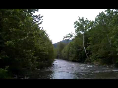 River Below Seneca Rock in West Virginia
