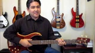 Con Funk Shun - Fire When Ready Bass Lesson and Tabulature