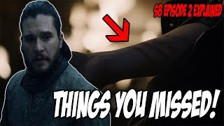 Download Things You MISSED! Game Of Thrones Season 8 Episode 2 (Explained) Mp3 and Videos