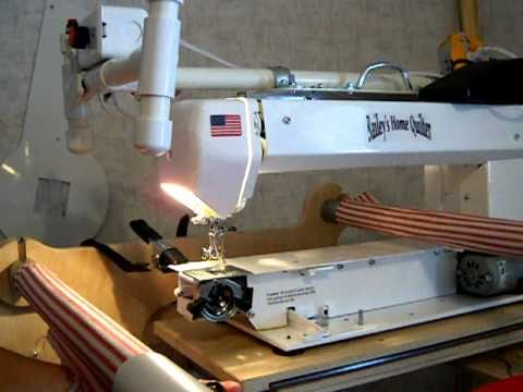 Bailey Home Quilter bobbin assembly - YouTube : bailey quilting machine for sale - Adamdwight.com