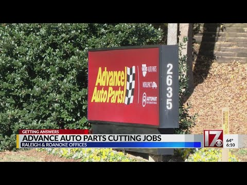 Advance Auto Parts Cutting Jobs In Raleigh