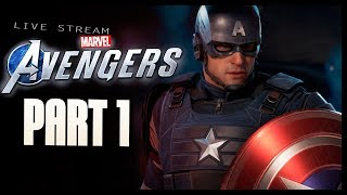 Marvel's Avengers Game - Part 1 A-Day