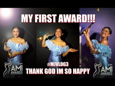 MY FIRST AWARDS!! Thank God Im So Happy..  #MJVLOG3