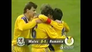 GHEORGHE HAGI - all goals for Romania