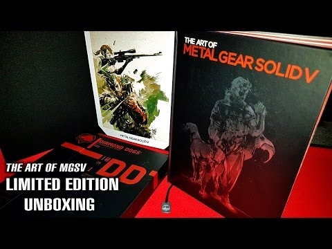 The Art of MGSV Limited Edition UNBOXING | Rare - Only 400 Copies Worldwide!