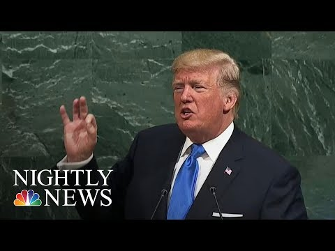 Donald Trump: U.S. May Have No Choice But To 'Totally Destroy North Korea' | NBC Nightly News